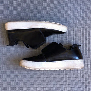 Black Patent Philippe Model Sneakers EU39 US 8.5 9